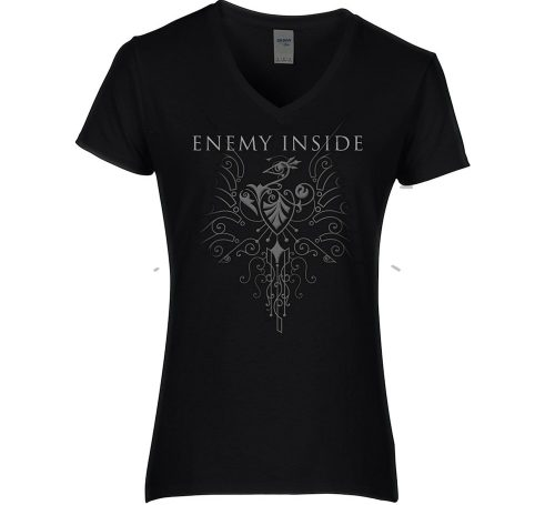 Enemy Inside Merchandise Girlie Shirt Black Phoenix