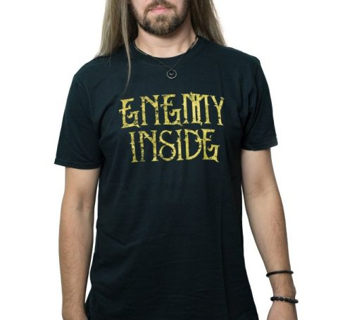 Enemy Inside Merchandise Men Shirt Gold