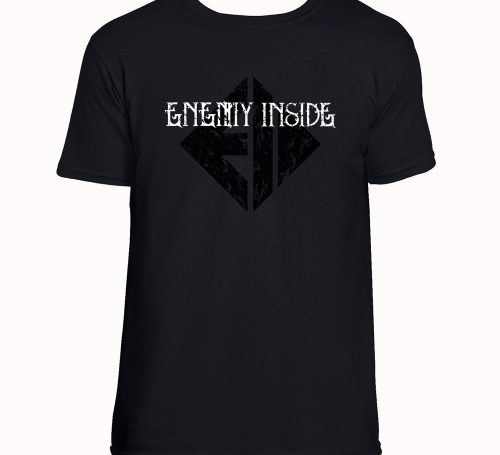 Enemy Inside Merchandise Men Shirt BW