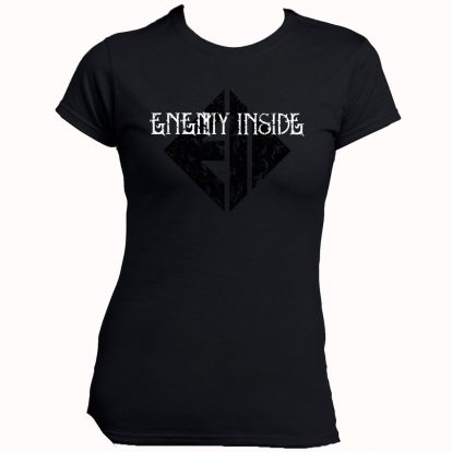 Enemy Inside Merchandise Girlie Shirt BW