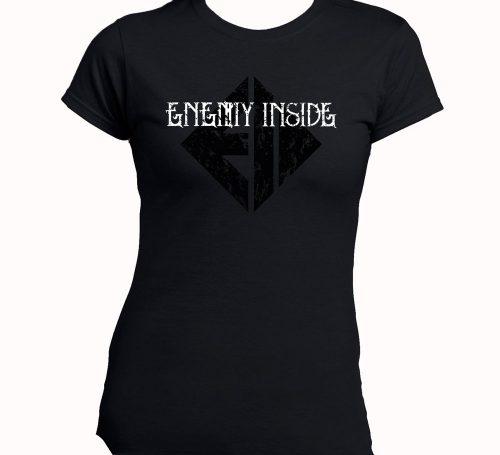 Enemy Inside Merchandise Girlie Shirt BW